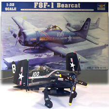 TRUMPETER 1/32 GRUMMAN F8F-1 BEARCAT KIT 02247