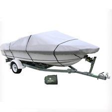 4.9-5.6M Trailerable Marine Boat Cover 16-18ft Beam 2.4M UV Half Cabin WDMATE