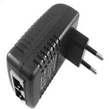 Wall Plug POE Injector Ethernet Adapter IP Phone/Camera Power Supply EU New