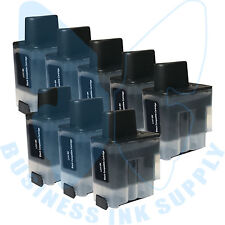 8 BLACK LC41 HIGH YIELD LC41BK Ink Cartridge Compatible for BROTHER Printer