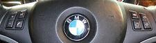 BMW OEM E81 E82 E87 E88 E90 E91 E92 E93 Sport Steering Wheel Button Cluster Pair