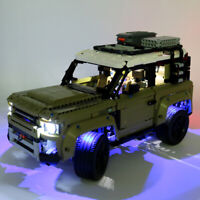LED Light Lighting Kit ONLY For LEGO 42110 For Land Rover For Defender Car  ^ k
