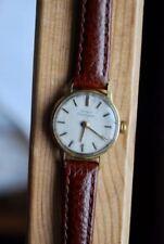 Ladies Vintage Girard Perrigaux 18 carat gold watch, certificate, original box
