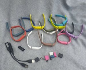 Fitbit Flex With Chargers And 13 Bands, Step Tracker