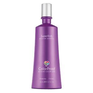 ColorProof Super Rich Moisture Shampoo 10.1 oz / 300ml makes color vibrant shine