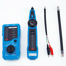 Bside FWT11 RJ11 RJ45 Cable Telephone Network Wire Line Tracker Tester Finder