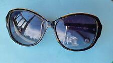 CAROLINA HERRERA Sunglasses SHE539 Color 02A1 Black/White Frame