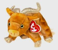 Ty Beanie Babies Zodiac OX Vintage 2000 Comforter Collectable Toy New Tagged