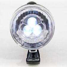 Luz LED Delantera para Bici Ciclismo Lámpara Frontal Faro Linterna ABS Metal