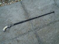 Collectable Walking Stick Vintage Style Metal Shaft Very Nice Gift for collector