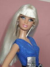 HTF Barbie model muse Barbie basics Holiday Barbie with outfit