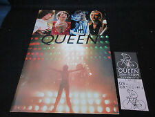 Queen 1979 Japan Tour Book with Ticket Stub Freddie Mercury Brian May Program