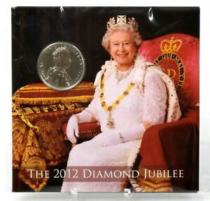Coin Brilliant Uncirculated 2012 Diamond Jubilee 8 Coin Royal Mint £5 - 1p AUCT