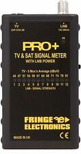 FRINGE PRO+ Digital TV & Satellite Meter / Tester with LNB Power Digital HD 3D