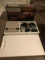 Nintendo Nes Action Set Console System Box Boxed Complete Mario CIB Rare Great