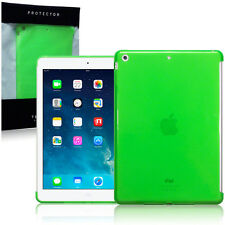 Apple iPad Air Case Protective Gel Super Slim  Back Cover Green Screen Protector