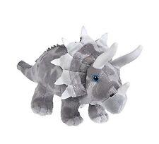 """Triceratops 13"""" Animal Den Plush Dinosaur Free Shipping"""
