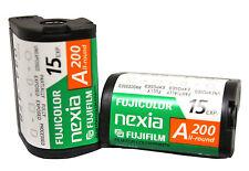 10x Fuji APS 200 15 Film Nexia Advantix Advanced Photo System BULK COLD STORED