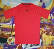 Men's UNDER ARMOUR HeatGear Compression Short Sleeve Athletic Shirt Sz Large