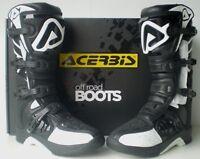 New Acerbis Motocross Enduro Boots Black CE APPR MX KTM SX CRF KX RM YZ CR XR XC