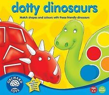 Orchard Toys 062 Dotty Dinosaurs Kids Childrens British Made Game 3 - 6 Years