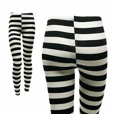 Unbranded Viscose Stripes Leggings for Women