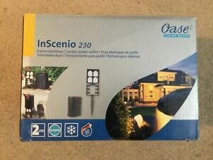 Oase InScenio 230 Garden Power Outlets , EU 2 Pins Sockets - NEW