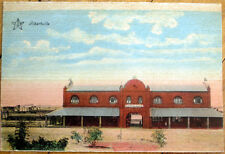 1915 Albertville, Gauteng, South Africa Postcard: Railroad Depot/Station