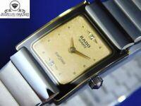 RADO Diastar 153.0526.3 Gold Silver Women's Vintage Watch Swiss Quartz