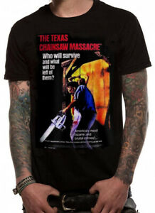 Official THE TEXAS CHAINSAW MASSACRE Unisex T-Shirt Tee NEW
