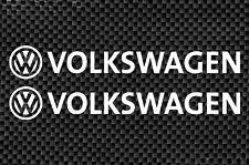 VW Volkswagen X2 Vinyl Sticker Decal JDM EURO VDUB Funny