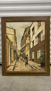 1929 Maurice Utrillo Painting