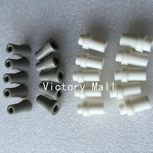 20PCS Dental Saliva Ejector Valve Adapters Tips Rubber 10pcs Strong 10pcs Weak