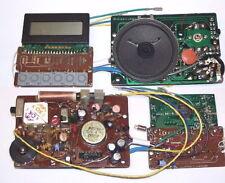 AM FM transistor IC CLOCK RADIO experimenter project kit board LOADED w/ PARTS