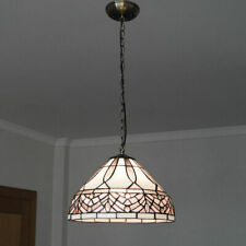 Tiffany Hanging Lights Stained Glass Ceiling Lamp Pendant Lighting Fixture
