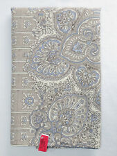Pottery Barn Vivianna Print King Sham Paisley Gray Blue New