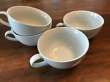 PotteryBarn Great White, Microwave & Dishwasher Bowls/Cappuccino mugs w/ handle