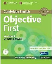(15).OBJECTIVE FIRST CERTIFICATE (WB-KEY+AUDIO CD) 4ªED.