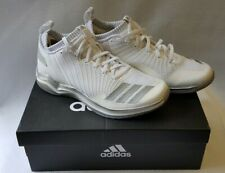 NIB Men's Adidas Icon Baseball Trainers Low Top White Silver Sz.9M   *A23