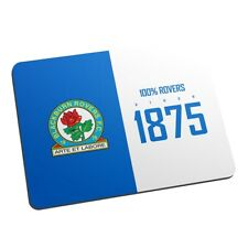 Blackburn Rovers F.C - Personalised Mouse Mat (100%)