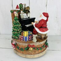 "San Francisco Music Box Co. Musical Figurine ""We Wish You A Merry Christmas"""