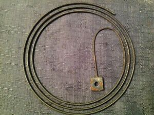 Antique Chime Gong Raound Wire Vienna Clock Spare Part 125mm diameter