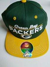 Green Bay Packers Snapback Hat Youth Size Cap NFL Team Apparel