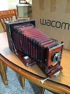 Korona VII 5x7 Mahogany Camera Regno Lens