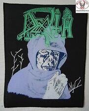 DEATH - Leprosy - Giant Backpatch Back Patch TOTAL CULT IN 1989 Limited edition