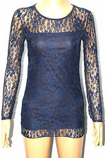 Unbranded Lace Hip Length Other Tops for Women