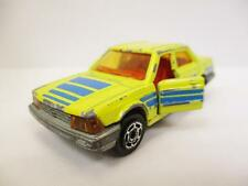 Vintage Majorette Honda Accord Rare Model Toy Car Yellow/Blue Made In France