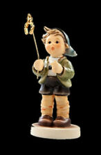 "MI HUMMEL COLLECTOR'S CLUB FIGURINE #232296 LITTLE LUCK HUM2296 BOY 3.25"" 2008"