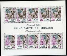 1989 MONACO BLOC N°46 DENTELE EUROPA xx