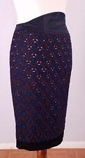 Catherine Malandrino Silk and Wool High Waist Pencil Skirt Size 2